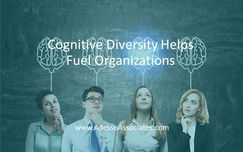 Cognitive Diversity helps Fuel Organizations